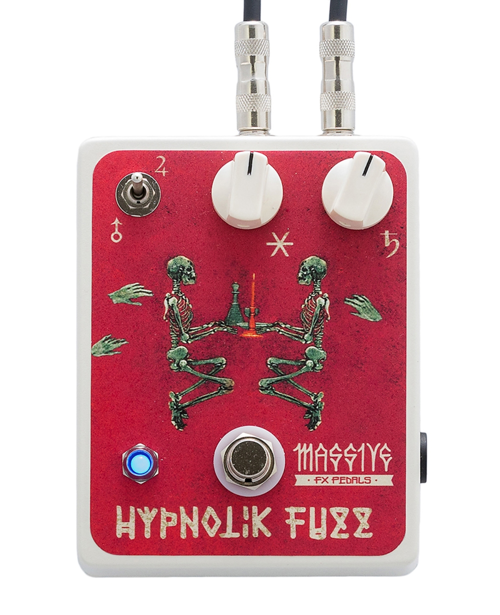 Massive FX Pedals Hypnotik Fuzz with cables