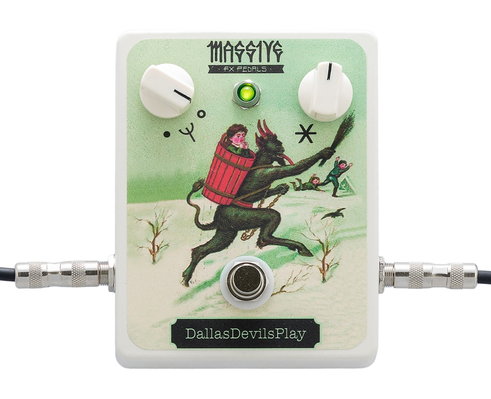 Massive FX Pedals DallasDevilsPlay with cables